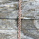 800CU-02 = Copper Chain 3.1mm Oval Cable Chain (FOOT)