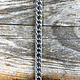 800L-04 = Steel Chain 7mm Double Curb (Sold by the foot)