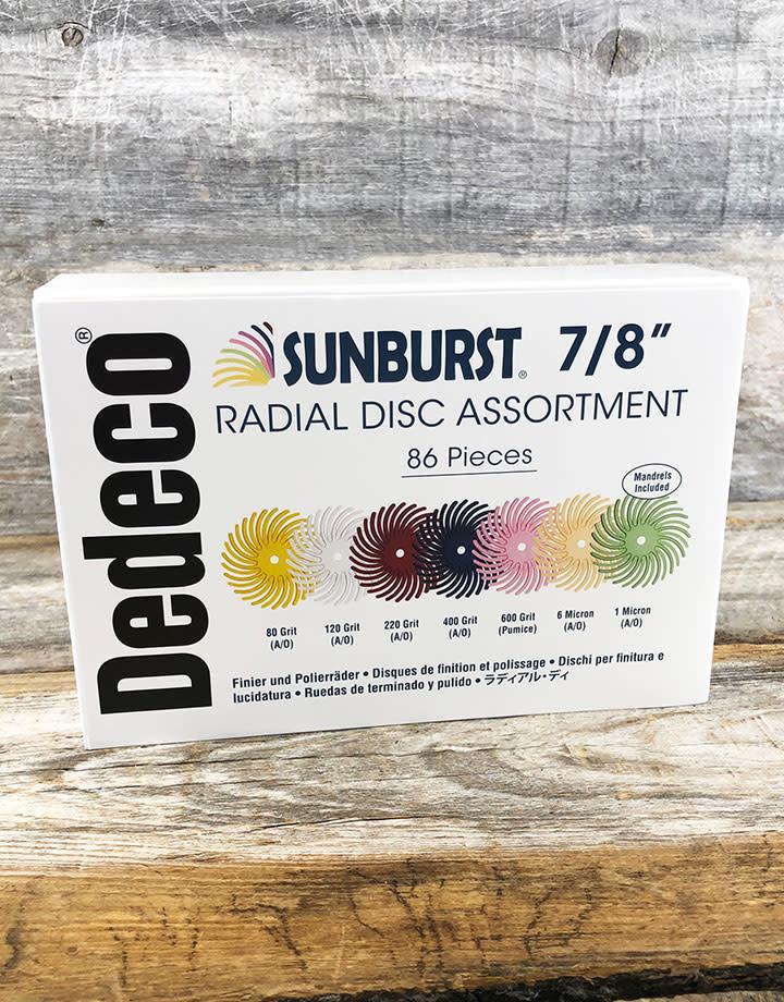 Dedeco ST9118 = 7/8'' Bristle Disc Kit 86pcs