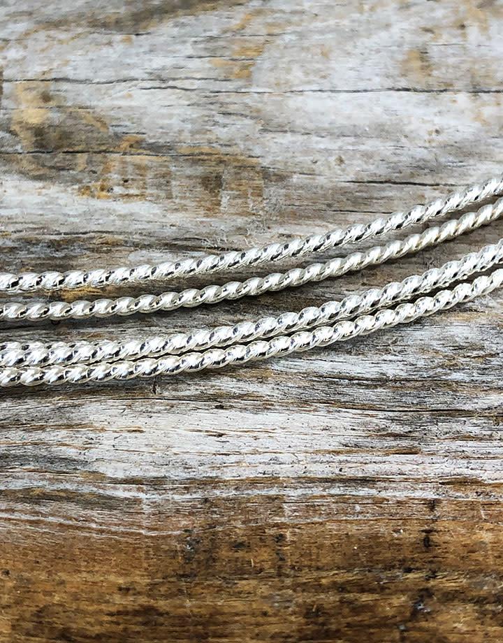 STW14 = Sterling Twist Wire 1.6mm 14ga (Sold per foot)