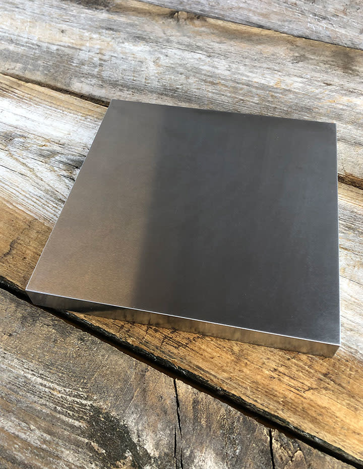 """PEPE Tools AN900 = PEPE Tools High Quality Steel Stamping Block 6"""" x 6"""""""