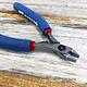 Tronex PL30747 = Tronex 747 Stubby Chain Nose Pliers - Long Ergo Handle