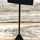 DER1255 = Black Value Velvet Earring Display 6-1/2'' high (Pkg of 3)