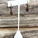 DER6254 = White Leatherette Earring Display 5-1/2'' high (Pkg of 3)
