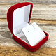 DBX2220 = Red Value Velvet Earring Box (Each)