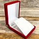 DBX2215 = Red Value Velvet Small Pendant Box (Each)