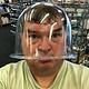 21.818 = Plastic Bell Jar 9''x8''