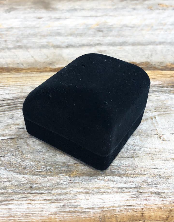 DBX1211 = Black Value Velvet Small Ring Box (Each)