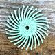 Dedeco ST9104A = Bristle Disc 7/8'' 1 Micron (Pkg of 12)