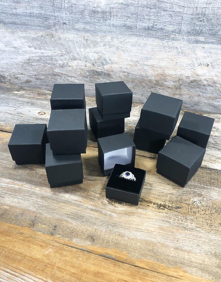DBX6300 = Matte Black Ring Box (Dozen)