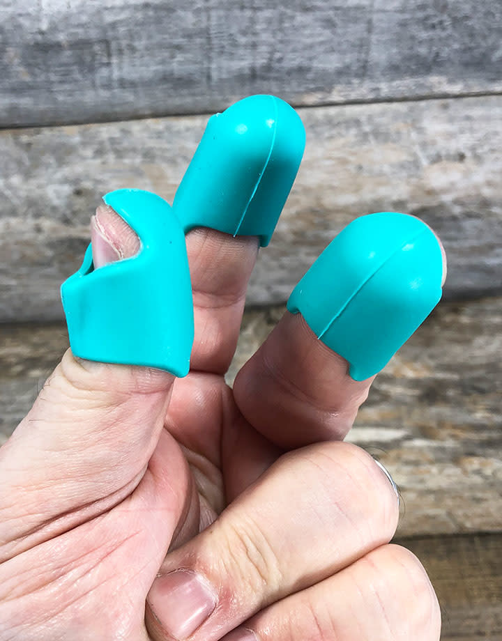 PS380 = Thermal Finger Guards (pack 3) = Choose Color