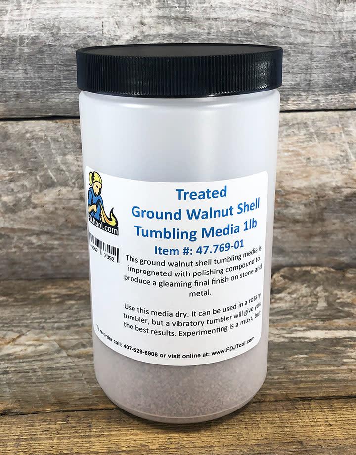 47.769-01 = Treated Ground Walnut Shell Tumbling Media (1lb)
