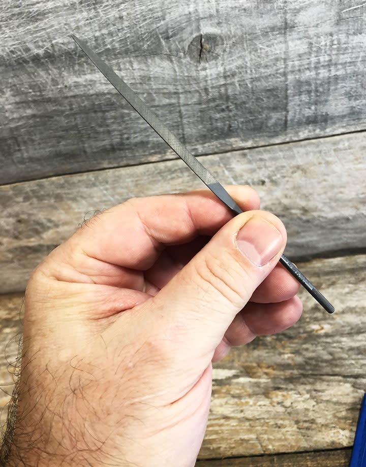 "Grobet USA FI6702 = Grobet Needle File Set 2 Cut - 5-1/2"" with Pouch (6 Pcs)"