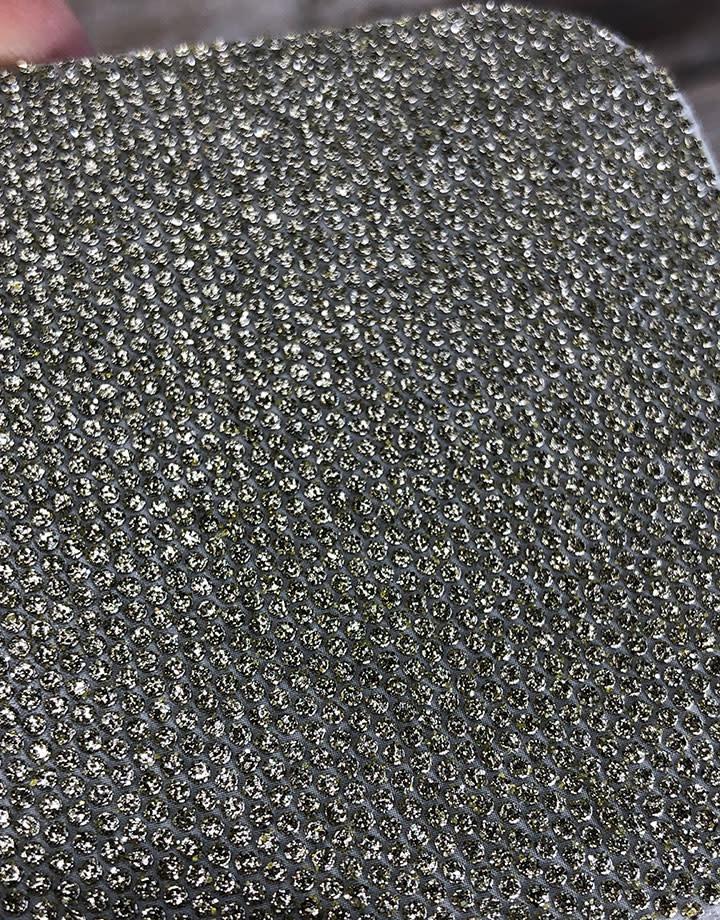 3M ST7680P = FLEX DIAMOND ABRASIVE PAD  2.5''x2.5''  60grit