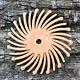 Dedeco ST9104 = Bristle Disc 7/8'' 6 Micron (Pkg of 12)