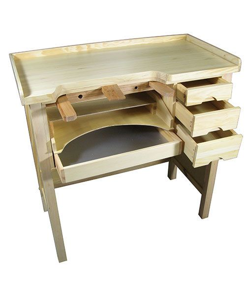 Grobet USA BN300 = Grobet Jeweler's Wood Workbench
