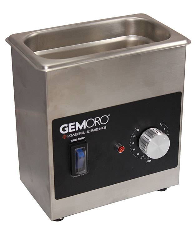 GemOro CL1731 = 1.5 Pint Next-Generation Ultrasonic Cleaner with Heater by GemOro