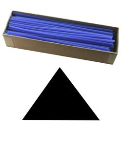 CA793-12 = Wax Wire Blue TRIANGLE 12ga 2oz BOX