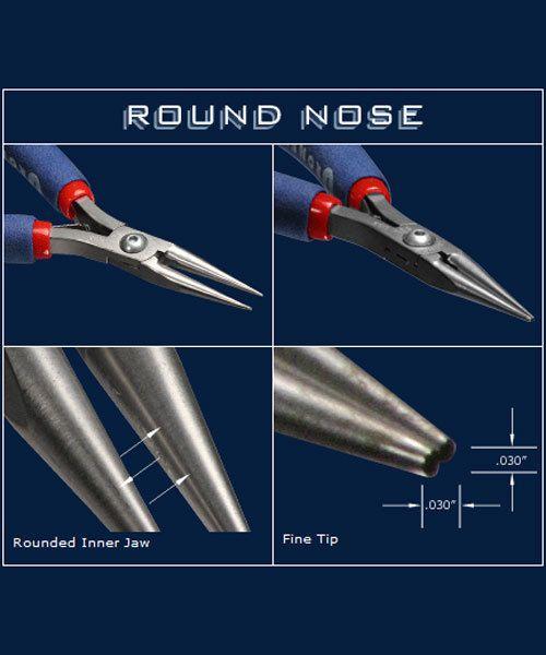 Tronex PL30531 = Tronex 531 Round Nose Pliers - Short Handle