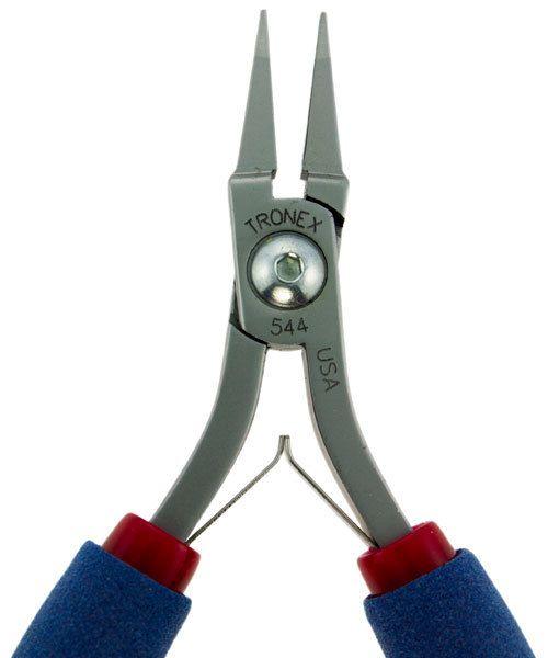 Tronex PL30544 = Tronex 544 Short Flat Nose Pliers - Short Handle