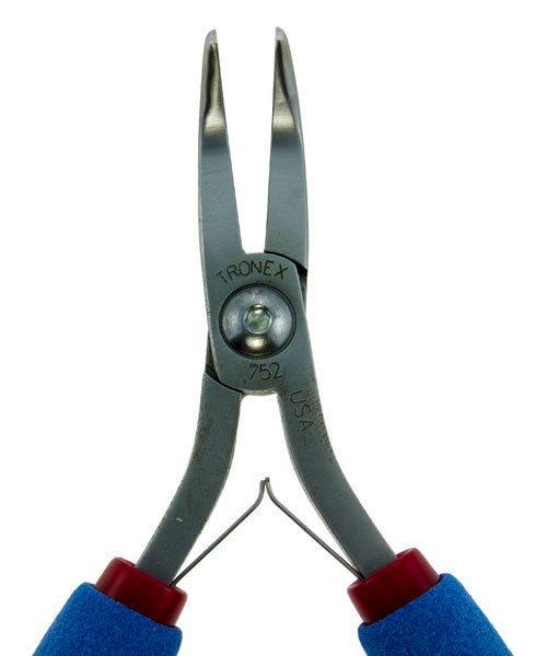 Tronex PL30752 = Tronex 752 Bent Nose Pliers - Long Ergo Handle