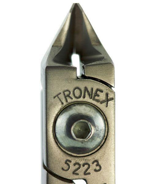 Tronex PL35223 = Tronex 5223 Tapered Head Razor Flush Cutter - Short Handle