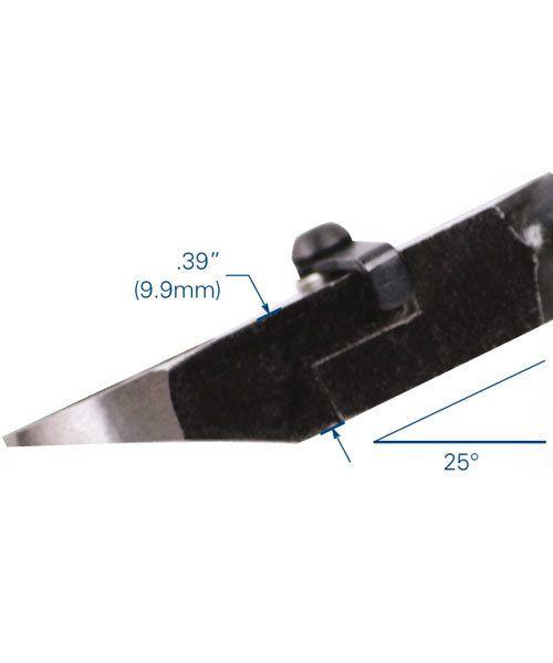 Tronex PL37812 = Tronex 7812 Oval Head Heavy Duty Flush Cutter - Long Handle