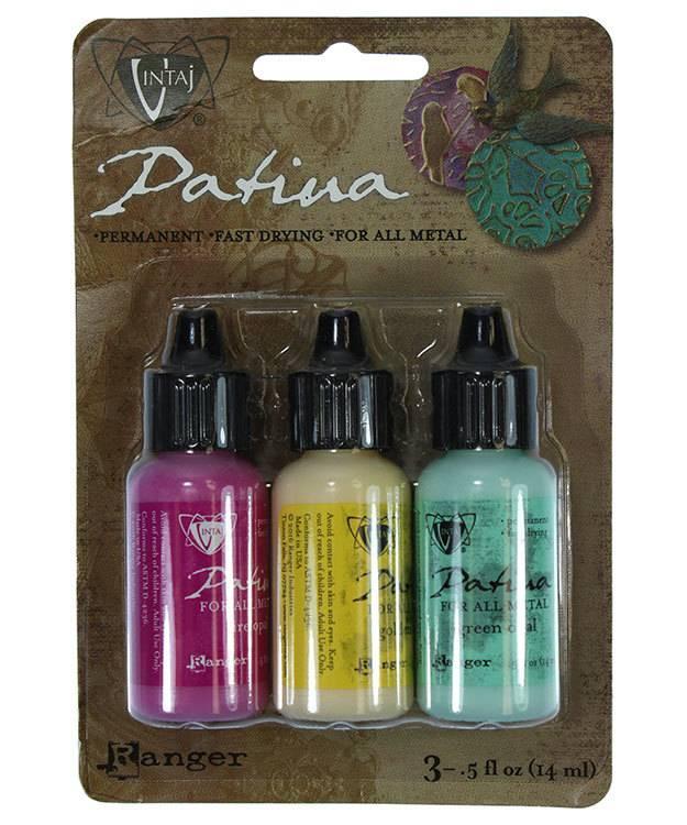 PM4097 = Vintaj Patina Ink Set - 3 Colors - Key West