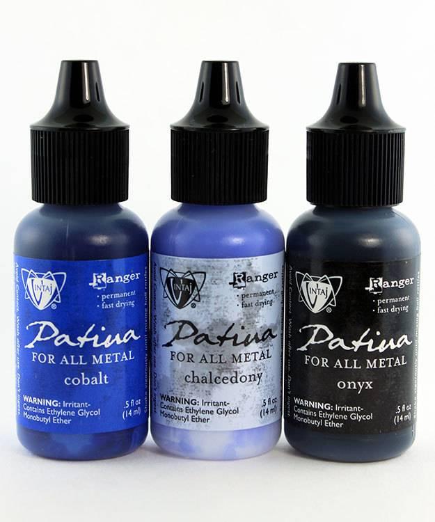 PM4099 = Vintaj Patina Ink Set - 3 Colors - Twilight In Paris