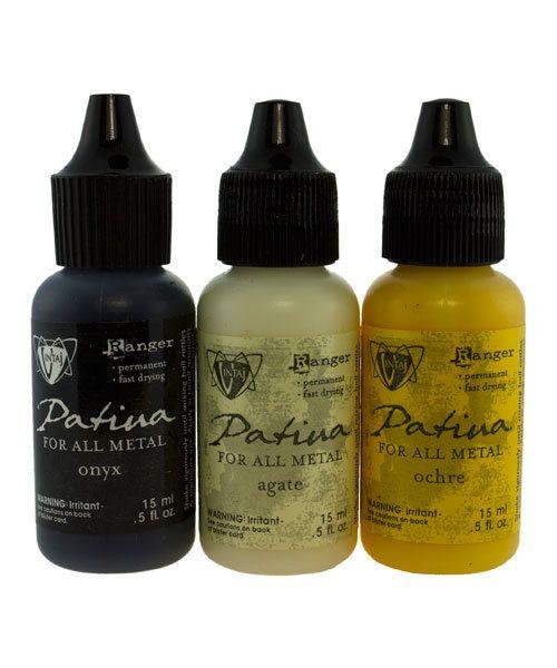 PM4104 = Vintaj Patina Ink Set - 3 Colors - Retro Highway