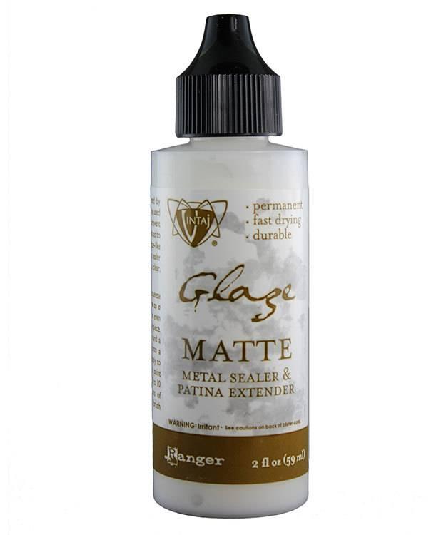 PM4112 = Vintaj Matte Glaze Patina Extender 2oz
