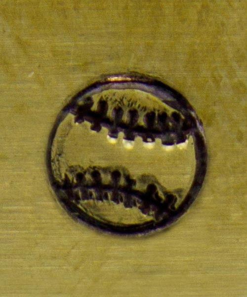 PN5142 = WHIMSICAL DESIGN STAMP - Baseball