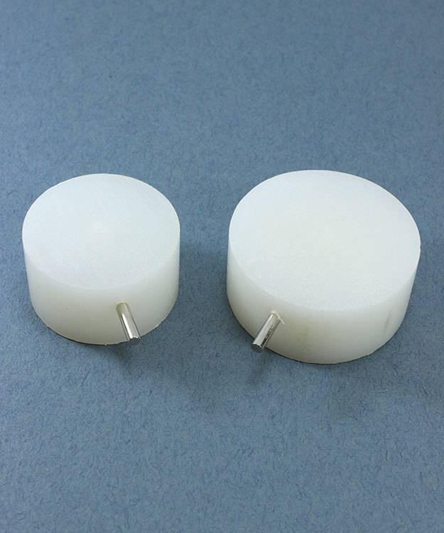 WR240 = 3D Bracelet Jig Sizing Drums (Set of 2)