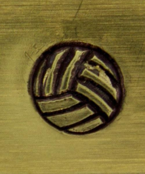 PN5139 = WHIMSICAL DESIGN STAMP - Volleyball