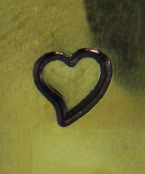 PN5072 = WHIMSICAL DESIGN STAMP - Heart