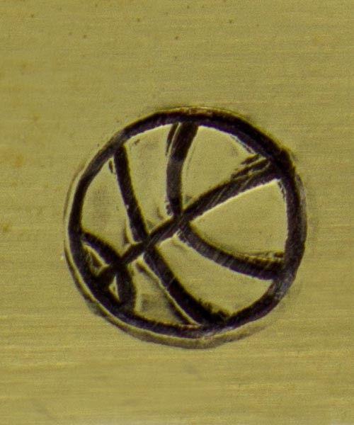 PN5141 = WHIMSICAL DESIGN STAMP - Basketball
