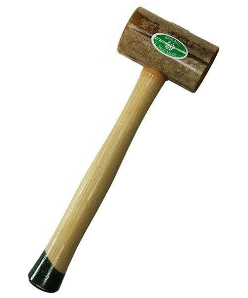 Garland 37.714 = Weighted Rawhide Mallet by Garland  (2'' face / 20oz head)
