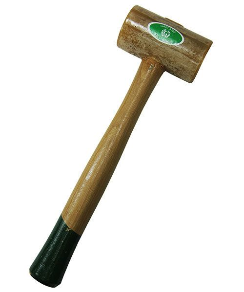 Garland 37.713 = Weighted Rawhide Mallet by Garland  (1-3/4'' face / 16oz head)