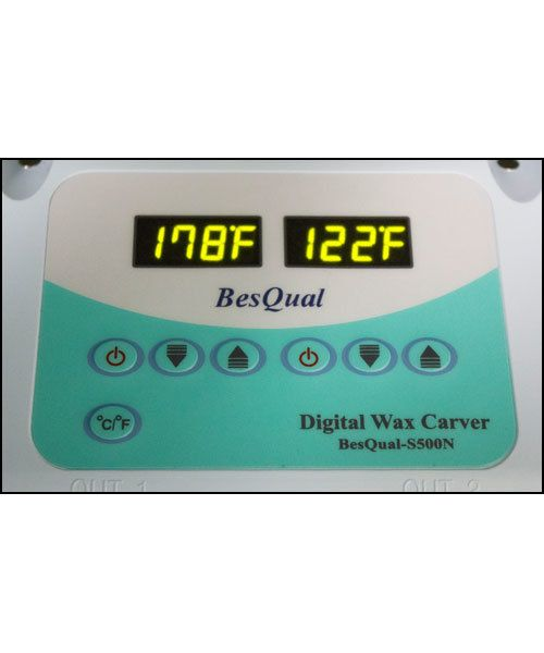 CA1355 = Wax Carver by Besqual with Digital Readout, 2 Pens and 6 Tips