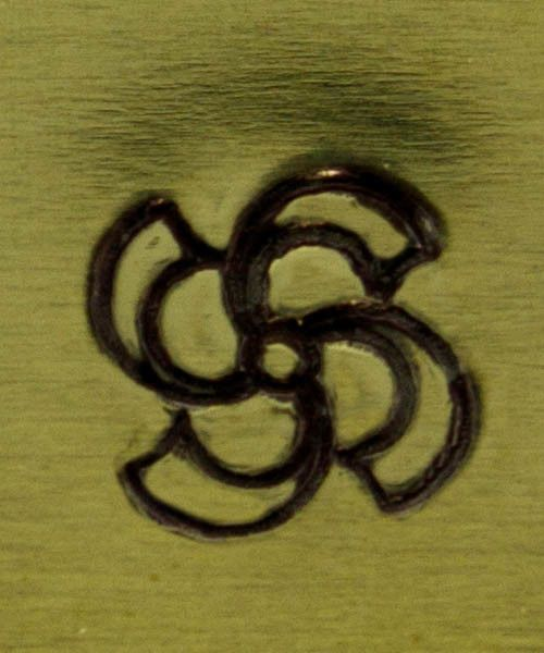 PN5065 = ALTERNATIVE DESIGN STAMP - Swirl