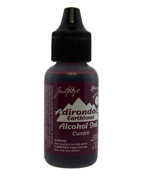 Tim Holtz Alcohol Ink PM4054 = Tim Holtz Adirondack Alcohol Ink Earthtones CURRANT 0.5oz