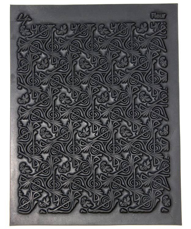 PN4722 = Texture Stamp - Fleur by Lisa Pavelka