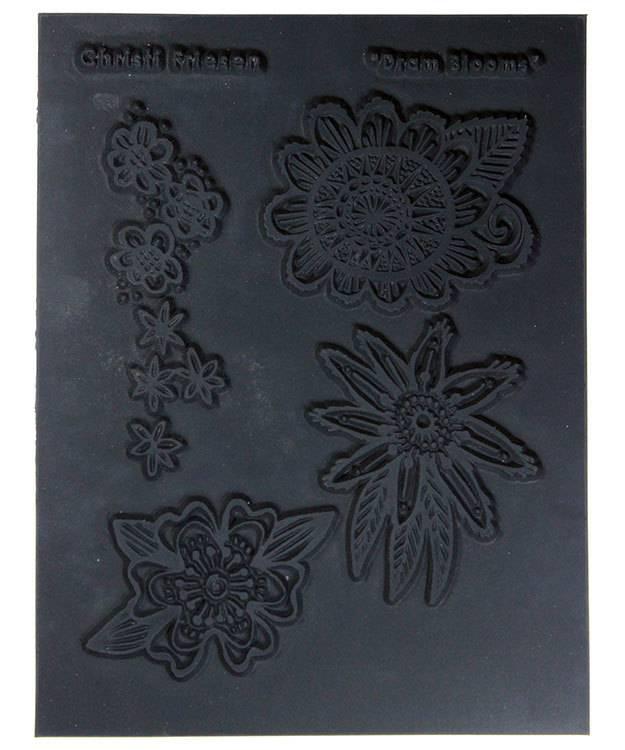PN4758 = Texture Stamp - Drama Blooms by Christi Friesen