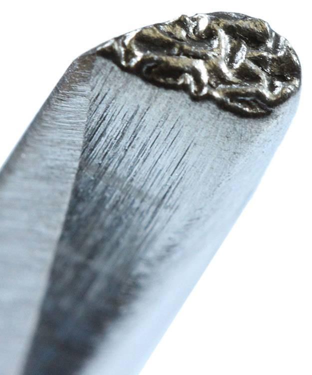 PN7114 = Tear Drop Texturing Tool 3/16'' by Saign Charlestein