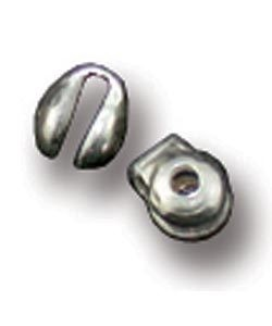 831S-02 = STERLING SILVER - PIN JOINT W/2x1MM BASE (EACH)