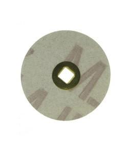 10.01123 = Aluminum Oxide Magnum Snap On Sanding Disc Medium 7/8'' dia (Pkg of 100)