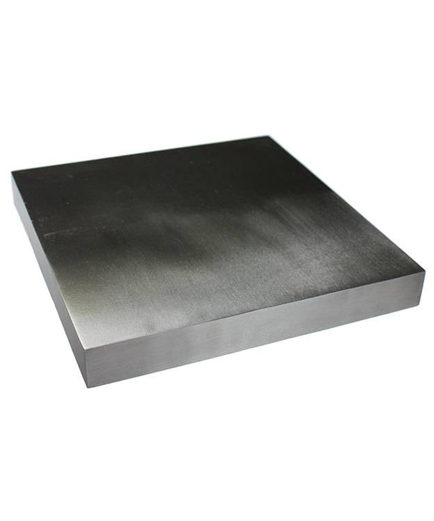 12.321 = Steel Bench Block Anvil 5-7/8'' x 5-7/8'' x 3/4''