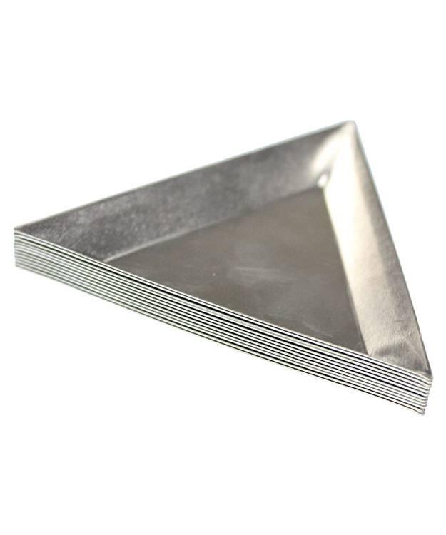 38.0167 = Aluminum Triangle Parts Trays (Pkg of 12)
