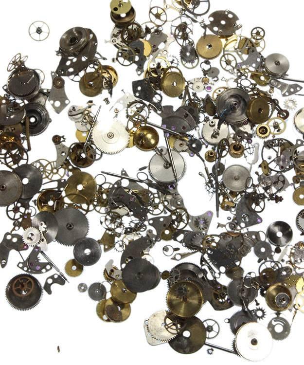 EB1051 = Steampunk Embellishments Watch Part Assortment (50 grams)