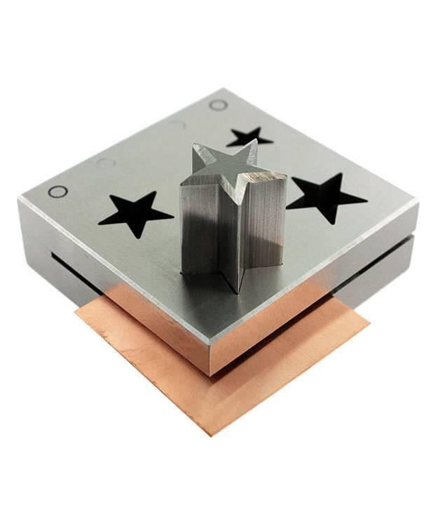 DA2403 = Stars Disc Cutter Set of Five Sizes 11mm to 24mm